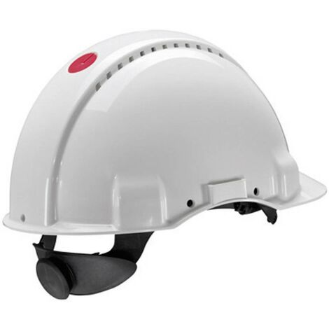 Casque de protection G3000 Peltor Uvicator EN 397 blanc 3M XH001675202