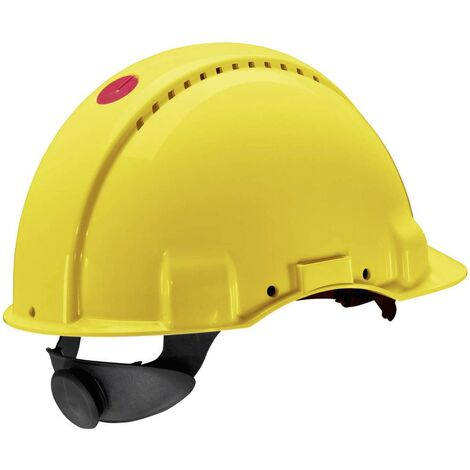 Casque de protection G3000 Peltor Uvicator EN 397 jaune 3M XH001675178