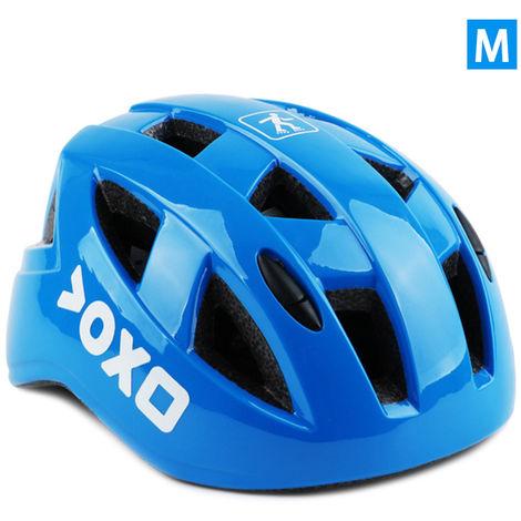 Casque De Securite Pour Enfants, Equipement De Cyclisme, Bleu, M