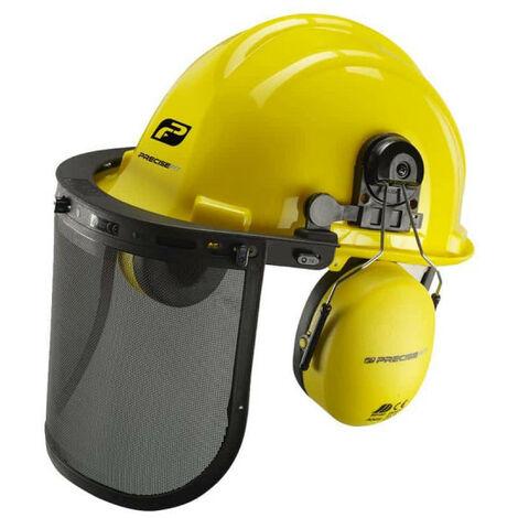 Casque de sécurité PRECISEFIT - visière et protection auditive PF100