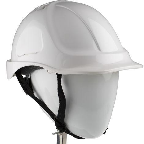 Casque de sécurité Ventilé Blanc ABS