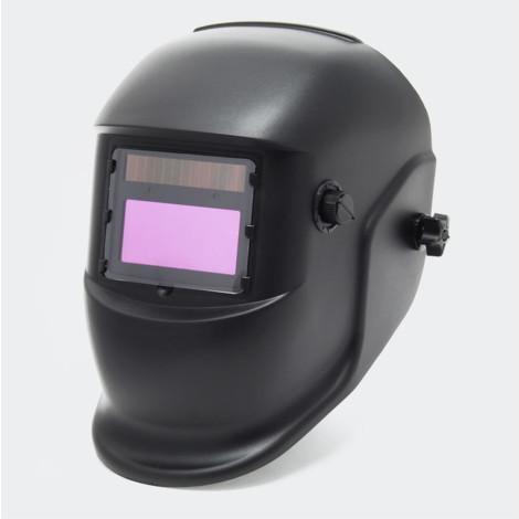 Casque de soudage automatique conception noir, dim automatiquement