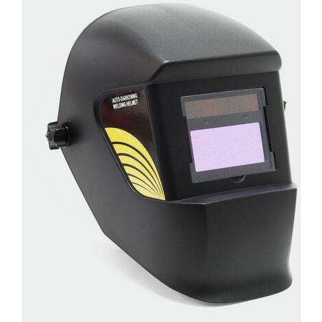 Casque de soudage automatique noir illimité, dim entièrement automatique