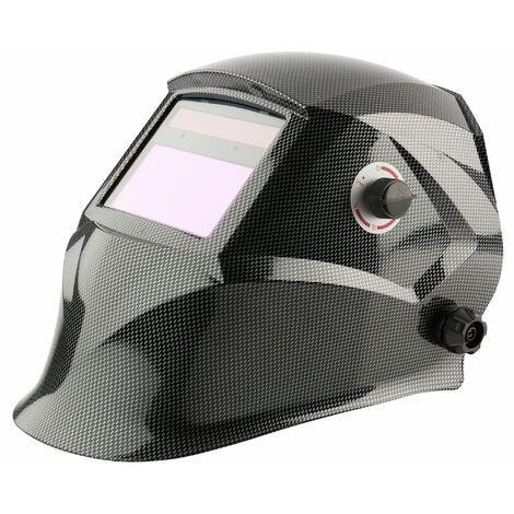 Casque de Soudage Écran de Protection Automatique Masque de Soudage Solaire gris