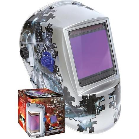 Casque de soudeur GYS LCD SPACEVIEW 5-9/9-13 compa- tible port de lunettes