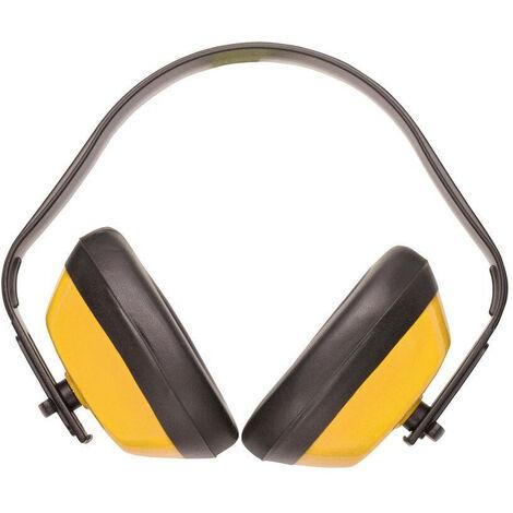 Casque de travail anti-bruit Mixte Jaune ou