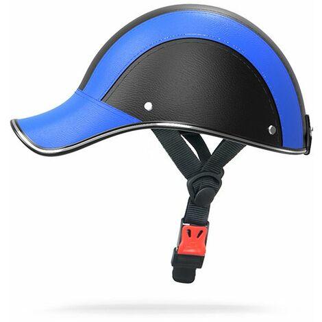 Casque d'équitation Casque de Moto Casquette de Baseball Chapeau d'équitation pour la randonnée équitation équipement de sécurité extérieure de Protection