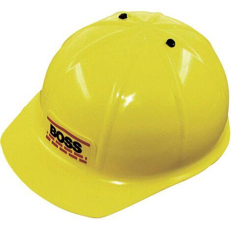 Casque douvrier pour enfant Boss L+D 8201 jaune