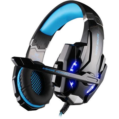 Casque Gamer Micro Casque PS4 Gaming Audio St