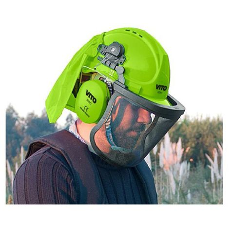 Casque protection VITOavec coquille anti-bruit Protection SNR 21DB