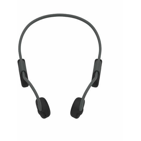 Casque Sans Fil Bluetooth A Conduction Osseuse Bt 5.0, Casque De Sport Anti-Transpiration Mains Libres