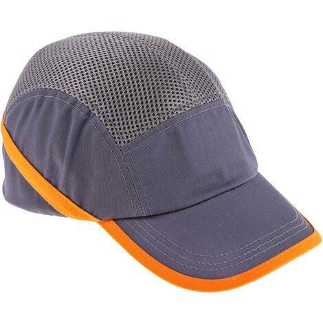 Casquette de protection Gris ABS Coton