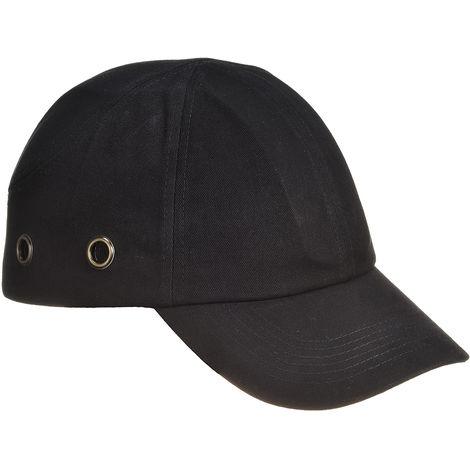 Casquette de protection Noir ABS Coton