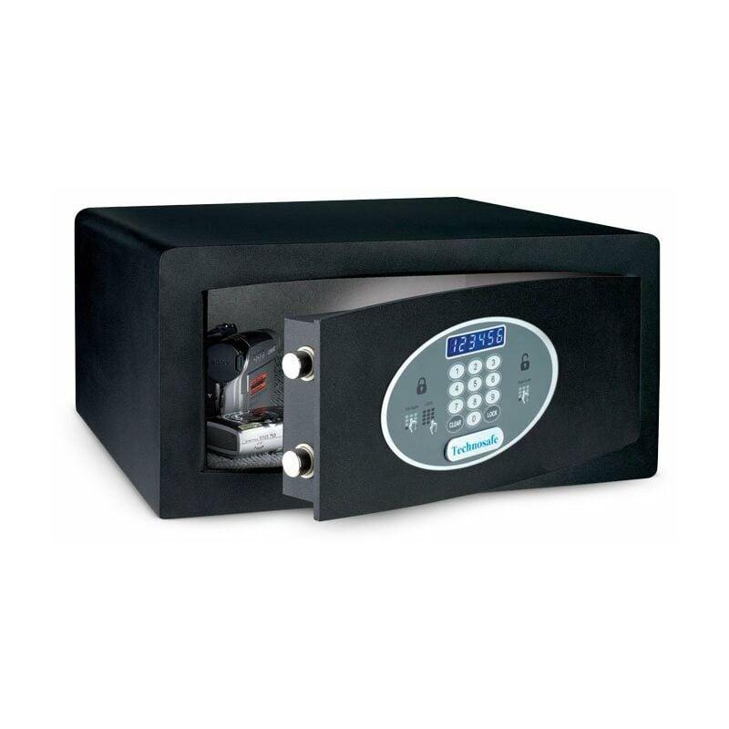 Cassaforte da Incasso a Muro Hotel Portatile Piccola 23x17x17 in Acciaio Meccanica con serratura- da Armadio