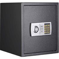 Cassaforte Digitale Numerica Mobile Tresoro con Serratura Elettronica 40x40x35cm