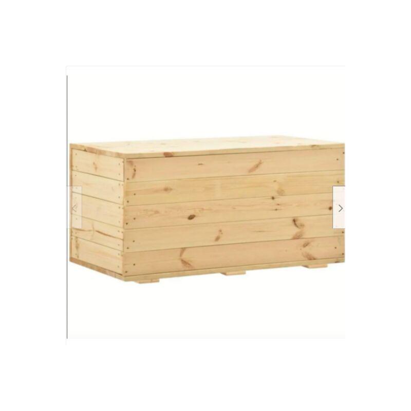 Baule Legno Fai Da Te : Cassapanca baule panca in legno di pino verniciabile naturale