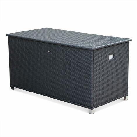 "main image of ""Rattan Garden storage box - 170X82cm - Cassapanca"""