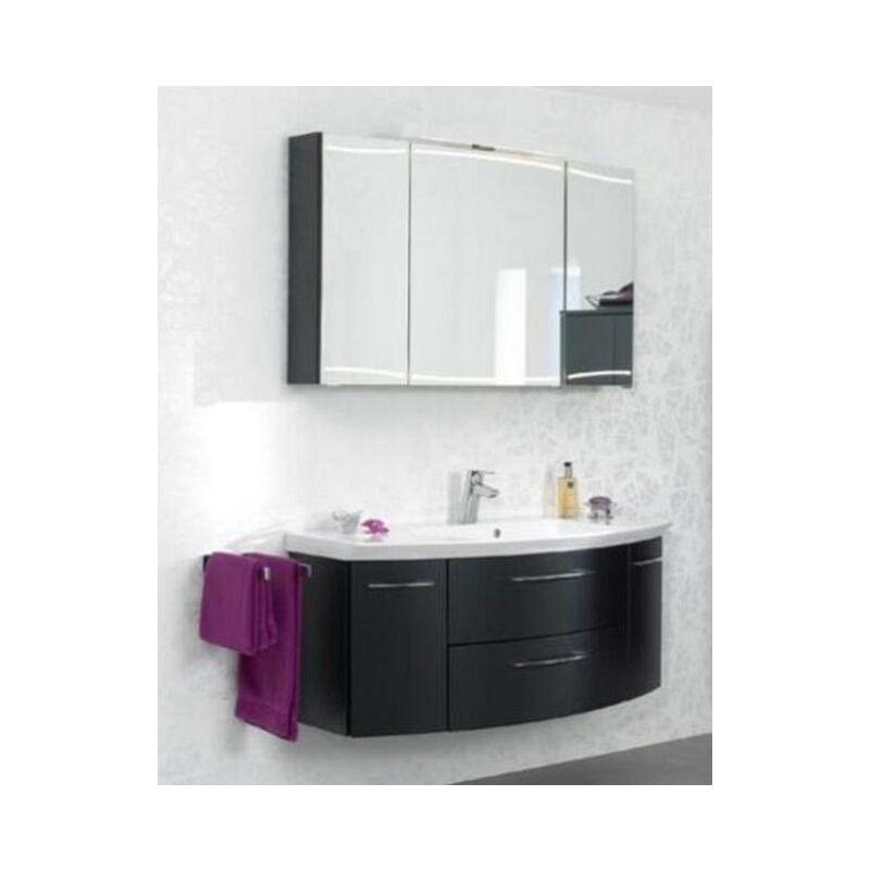 cassca Pelipal Badmöbel Set, 120cm Waschtisch Waschtischunterschrank Spiegelschrank, A036545