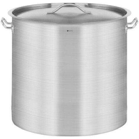 Casserole à induction 98 litres acier inoxydable