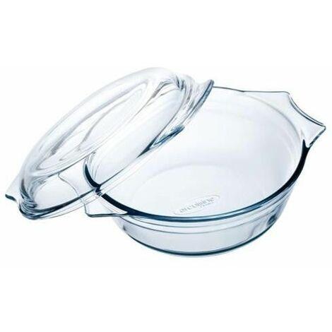 Casserole avec Couvercle en Verre Ô Cuisine Transparent verre