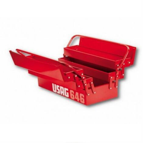 Cassetta attrezzi porta utensili usag portattrezzi mod 646/5v cod 646201