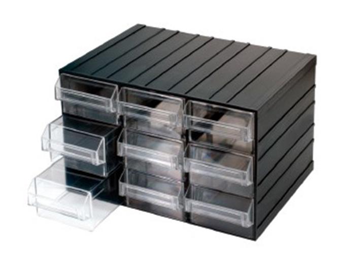 Cassetta cassettiera in plastica porta minuteria cassetti fervi