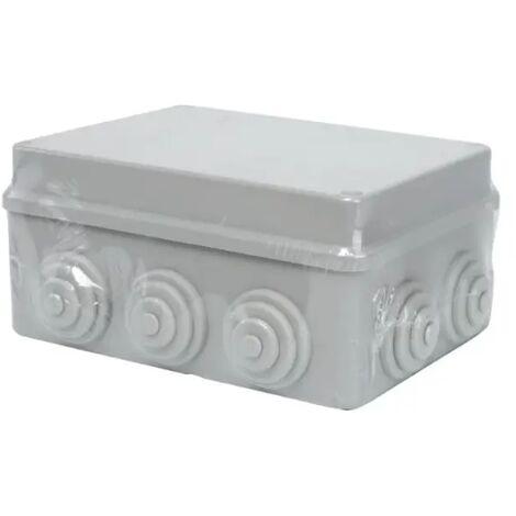 cassetta derivazione esterno pressacavo impianto elettrico 150x110x70mm CE IP44 grigio aig 190125