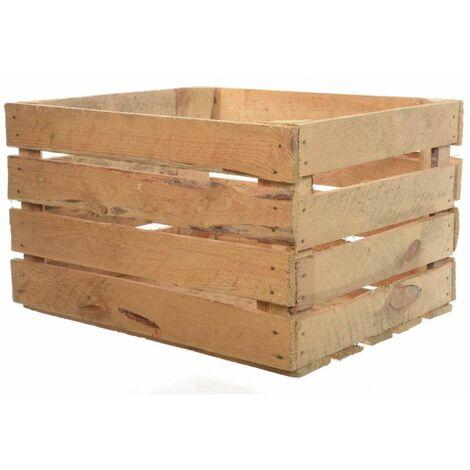 Cassetta legno 40 x 50 x 30 h cm