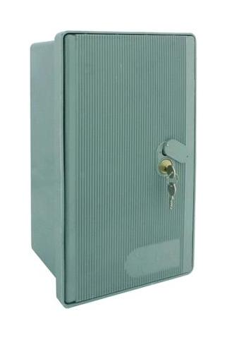 Cassetta Per Contatore Enel Monofase Cm 42 X 23 X 20 In Vetroresina