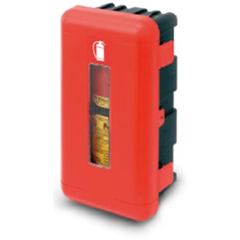 Cassetta porta estintore Regon per camion autocarri Manfredi 335x715x240 Kg 9-12