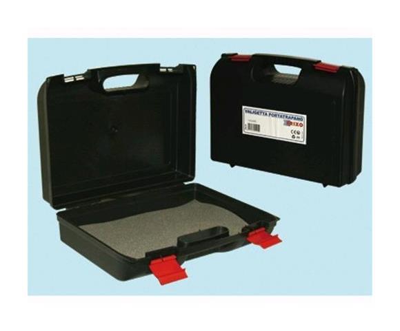 Cassetta valigetta attrezzi porta trapano antiurto in plastica resina Brixo