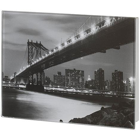 """main image of """"Cassetta portachiavi in Vetro Manhattan"""""""