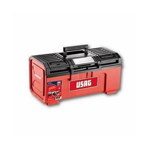 Cassetta portautensili 641 T - vuota - Misure: 394x220x162 mm