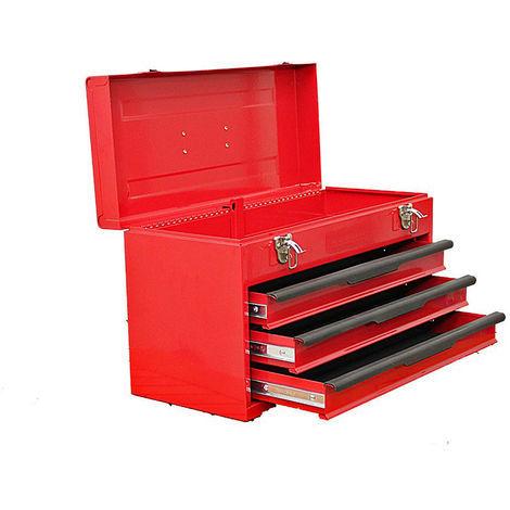 Cassetta portautensili Barbero 435x240x275mm cassetti scorrevoli cestello attrezzi ferro