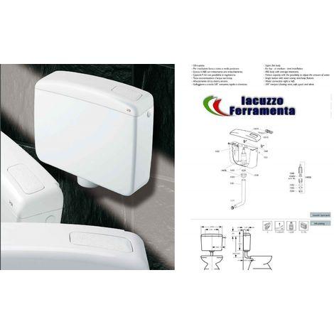 Cassetta Scarico A Zaino Beta Wc Bagno Abs Completa 1 Pulsante 9