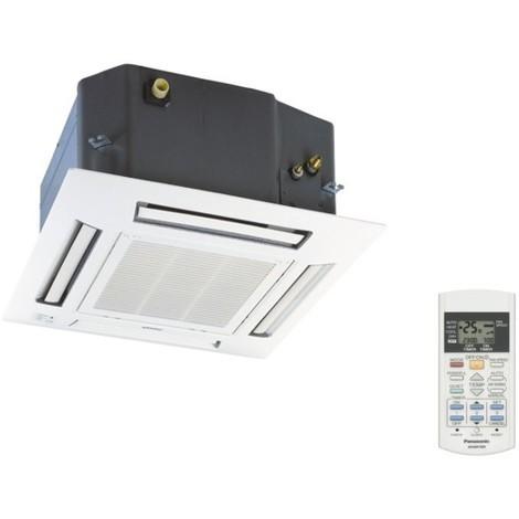 Cassette 4 voies 600X600mm 6KW inverter UI pour climatisation multi-split piéce 60m2 max sans panneau PANASONIC CS-ME21PB4EA