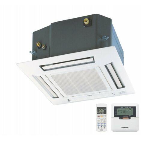 Cassette intérieure 4KW encastrée 600X600mm climatisation reversible inverter multi-split (UE non incl) PANASONIC CS-E15HB4EA