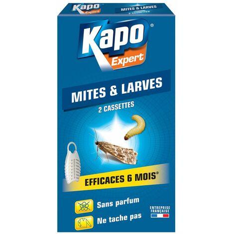 Cassette mites larves kapo