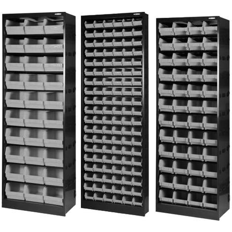 Cassettiere Plastica Per Minuterie.Cassettiera Armadio Portaminuteria 30 Cassetti 66x37x190 In Lamiera