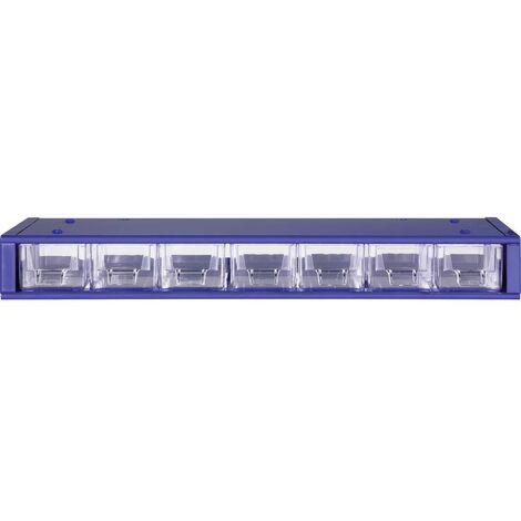 Cassettiera porta minuteria (L x L x A) 420 x 150 x 50 mm MARS Svratka Scomparti: 7 suddivisione fissa