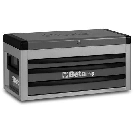 Cassettiera Portatile Con 3 Cassetti Grigio - Beta C22S-G