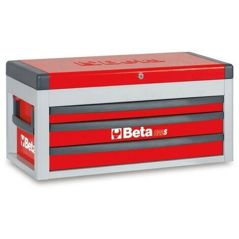 Cassettiera Portatile Con 3 Cassetti Rosso - Beta C22S-R