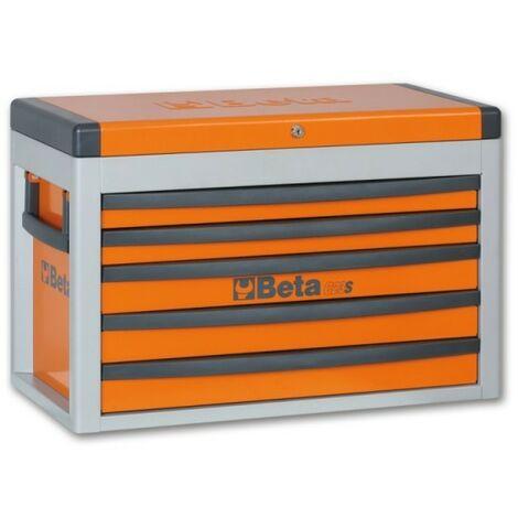 Cassettiera portatile con 5 cassetti Orange Beta C23S-O