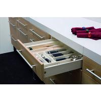 Cassetto Cucina In Kit Box Acciaio L450Mm H86Mm O H 150Mm Guide + Sponde + Ganci