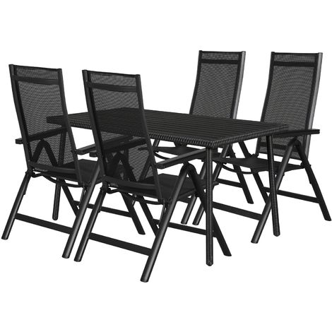 Cassy Gartenmobel Set 1 Tisch Und 4 Stuhle 51 10108