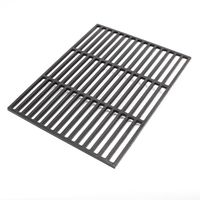 Cast iron Barbecue grate rectangular 45 x 35 cm massive for charcoal and gas grill