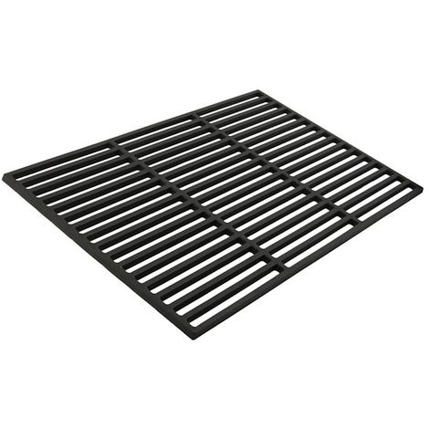 Cast iron grill grate, 38 x 29 cm, enamelled