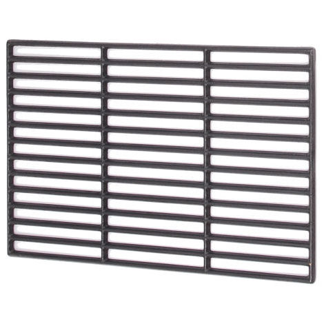 Cast iron grill grate, 45 x 35 cm, enamelled