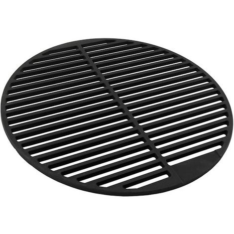 Cast iron grill grate, round, Ø 45 cm, enamelled
