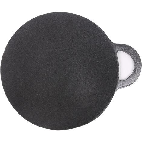 Cast Iron Pizza Pan No Stick Griddle Plate Enamel Round Pan 30cm